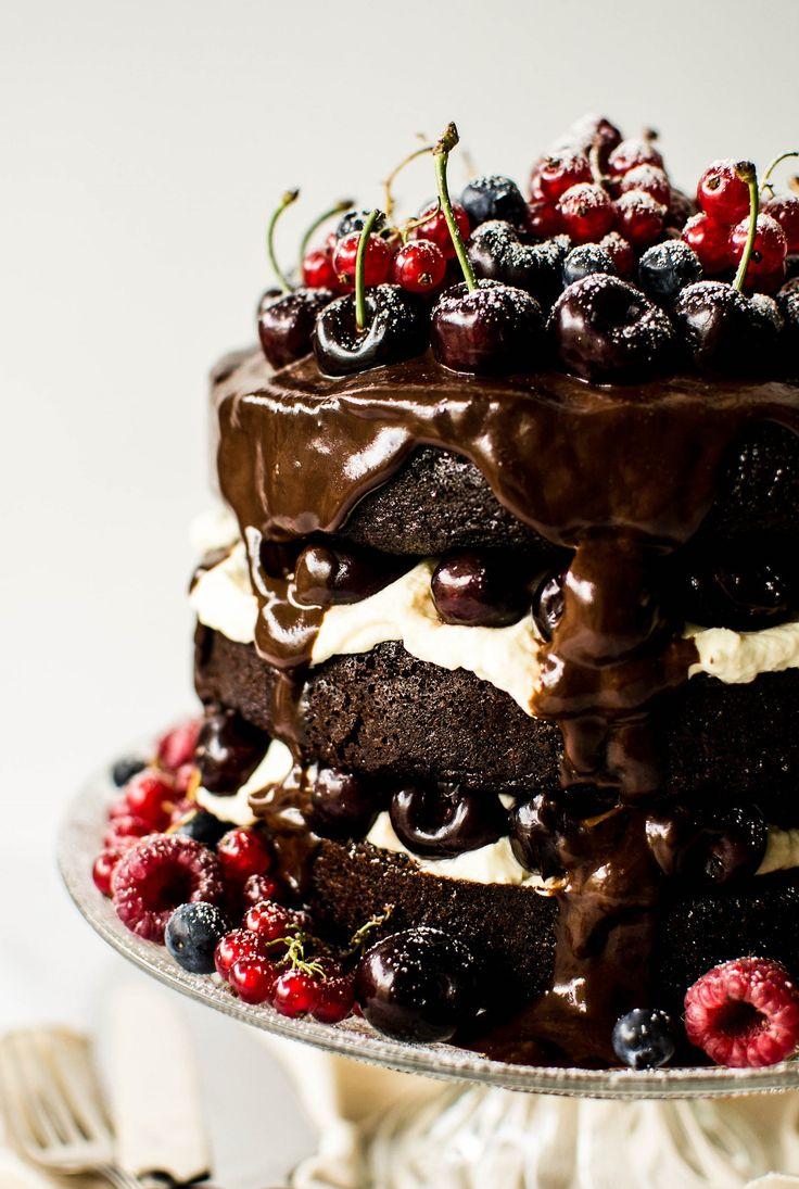 Black Forest Gateau Recipe Cake Recipes Black Forest