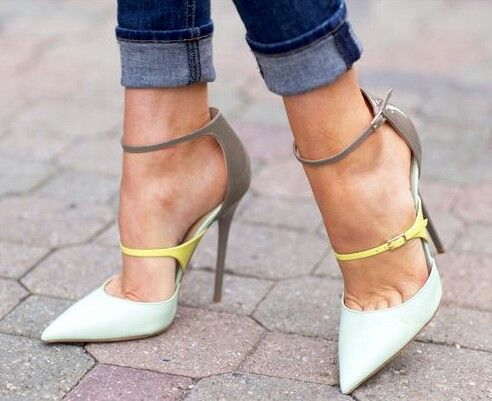 BEAUTIFUL—Jimmy Choo typhoon heels❣ Pinned these from a store site, but  seeing…