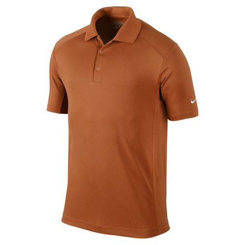 Nike Golf Men's Victory Polo - Desert Orange/White