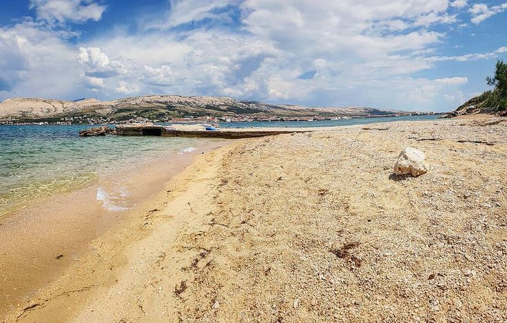 A wonderful beach just 200m from our apartments! Beautiful weather we're having  #DiscoverPag #PagTown #Pag #IslandPag #IslandOfPag #Zadar #Zadar_Region #CroatiaFullOfLife #Chorwacja #Paradise #Kroatien #KroatienUrlaub #CroatiaHoliday #Hrvatska #Holiday #UnlimitedCroatia #Urlaub #IgersCroatia #OtokPag #BlueSky #Beach #Sea #SeaView #FamilyHoliday #AirBnB #BeachLife