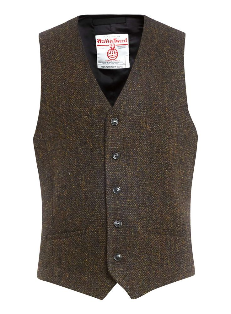 Harris Tweed Brown Twist Pure Wool Waistcoat 68,00 € http://eu.topman.com/en/tmeu/product/suits-shop-617796/harris-tweed-2390765/harris-tweed-brown-twist-pure-wool-waistcoat-4864075?bi=0&ps=20