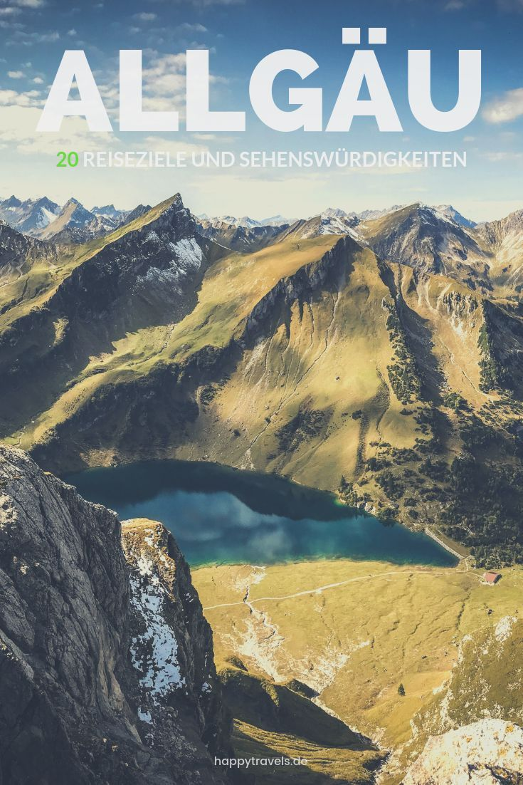 Die 20 schönsten Ausflugsziele und Sehenswürdigkeiten im Allgäu