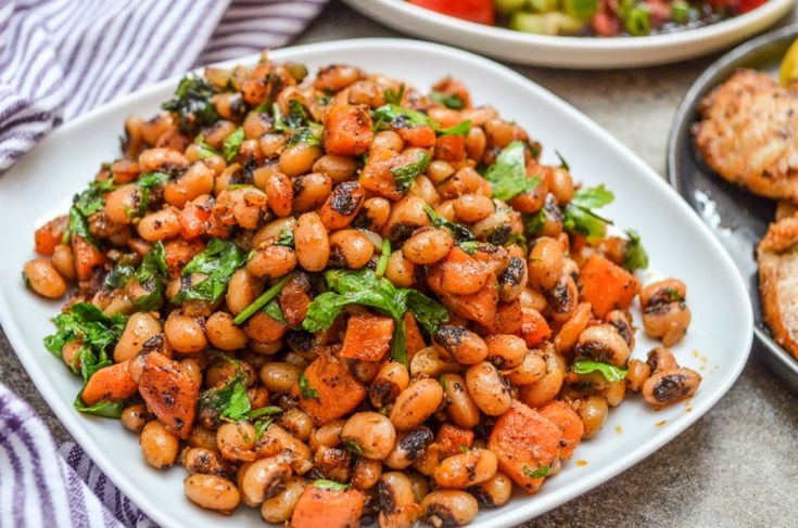 Spicy eye beans with carrot | Recipe | It can …