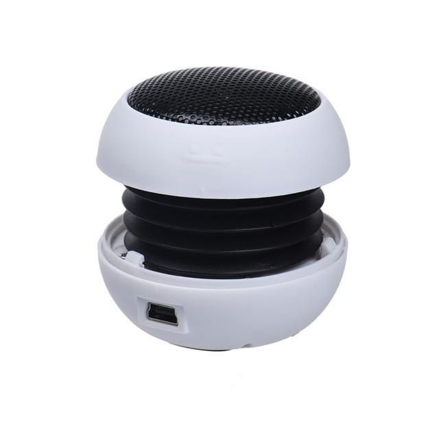 New Mini Portable Hamburger Speaker/Amplifier For iPod/Tablet
