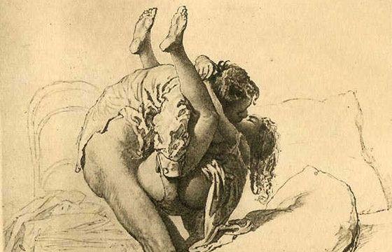 Juxtapoz Magazine - Mihály Zichy: 19th Century Erotic Art