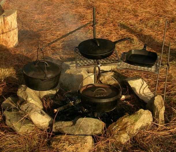 Grandpa Jake's Campfire Cooker - 01