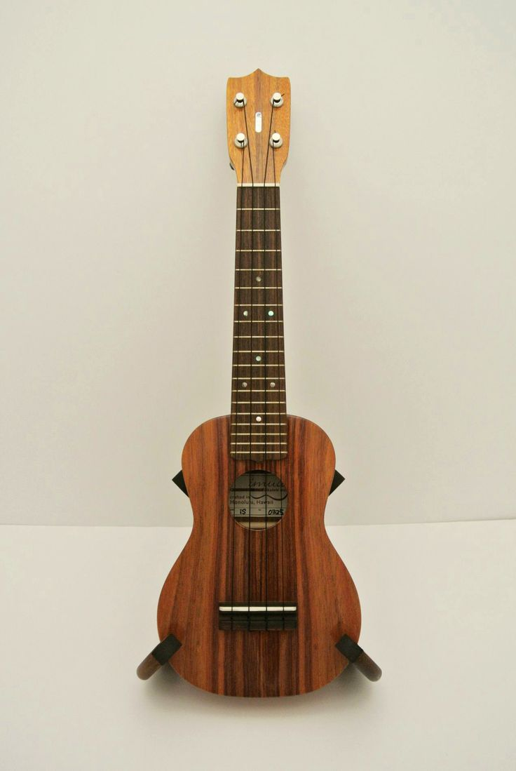 """Imua Solid Hawaiian Koa Soprano Ukulele iSG - 0325 """"i"""" Logo abalone inlay made in our Kakaako shop in Honolulu for sale on Etsy - check it out!"""