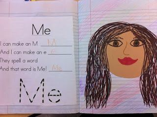 This is the cutest kindergarten poetry journal ever! The examples are awesome!
