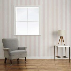 Lille Dove Grey Stripe Wallpaper