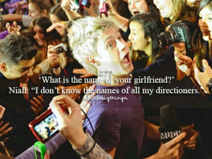 I'm Niall's girlfriend!