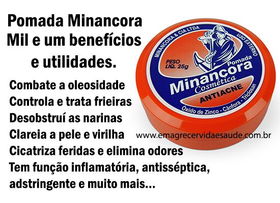 Beneficios e Utilidades da Pomada Minancora
