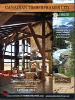 Summer 2012 Newsletters and Features, Canadian Timberframes