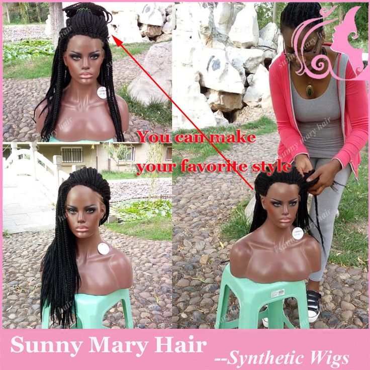 Find More Synthetic Wigs Information about Lace Front Box Braid Wigs with Natural Baby Hair Synthetic Lace Front Wig Black Hair Glueless Wig Heat Resistant for Black Women,High Quality wigs for black women,China box body for sale Suppliers, Cheap box chocolate from Sunny Mary Hair Store on Aliexpress.com