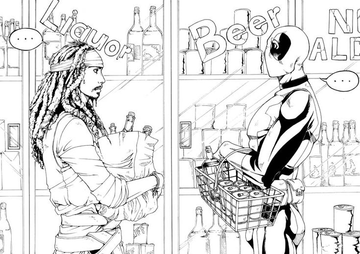 Deadpool Marvel 16 Coloring Pages Printable: 21 Best DeadPool Coloring Pages Images On Pinterest