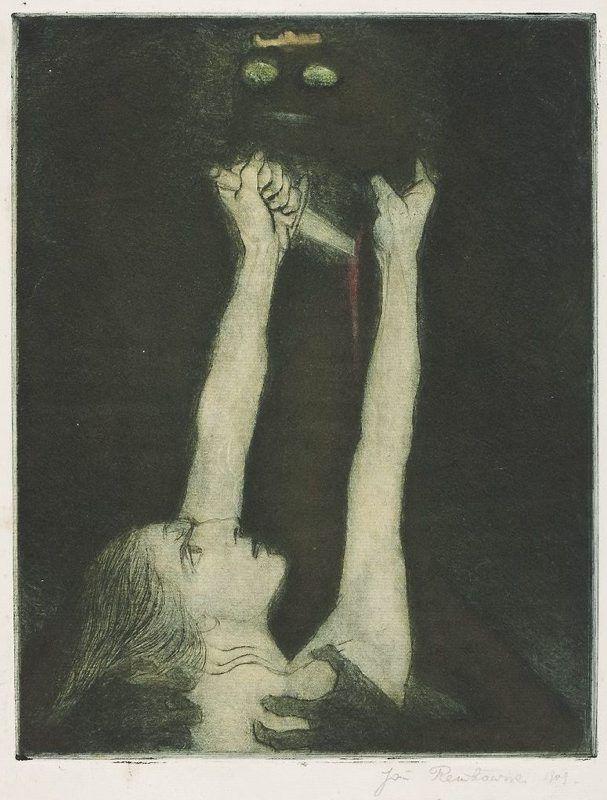 Walka ze smokiem, Walka ze smokiem, 1909