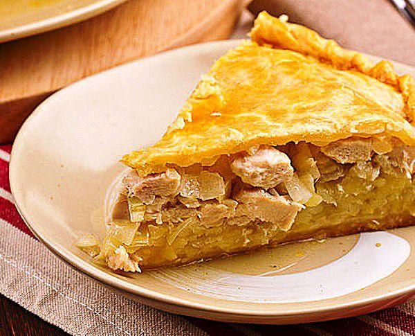 Курник – русский пирог с курицей На этой странице я расскажу, как приготовить курник – классический рецепт пошаговый (с фото). Это быстрый и вкусный домашний пирог с курицей и картошкой