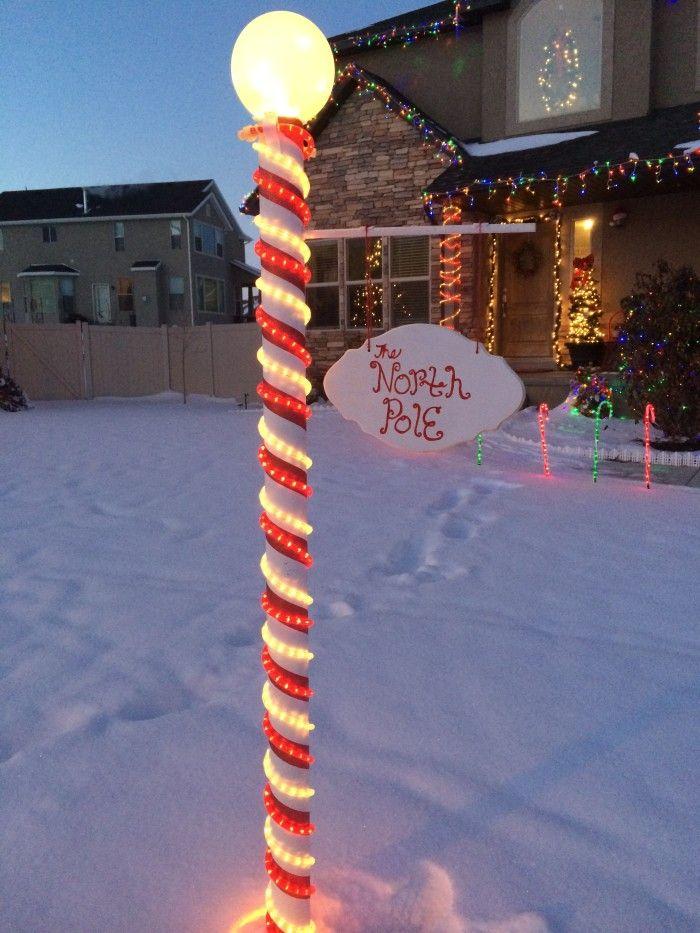 Coolest North Pole Sign DIY!