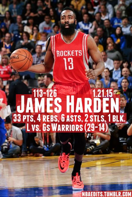 James Harden - 1.21.15 - L vs. Golden State Warriors - http://nbafunnymeme.com/nba-best-players-of-the-day/james-harden-1-21-15-l-vs-golden-state-warriors