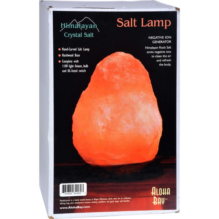"Himalayan Salt Crystal Lamp Small 7"""" To 8"""" - 1 Lamp"