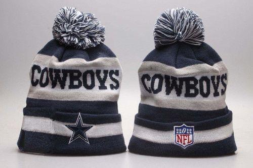 16c1df8b3ff37 Dallas Cowboys Winter Outdoor Sports Warm Knit Beanie Hat Pom Pom ...