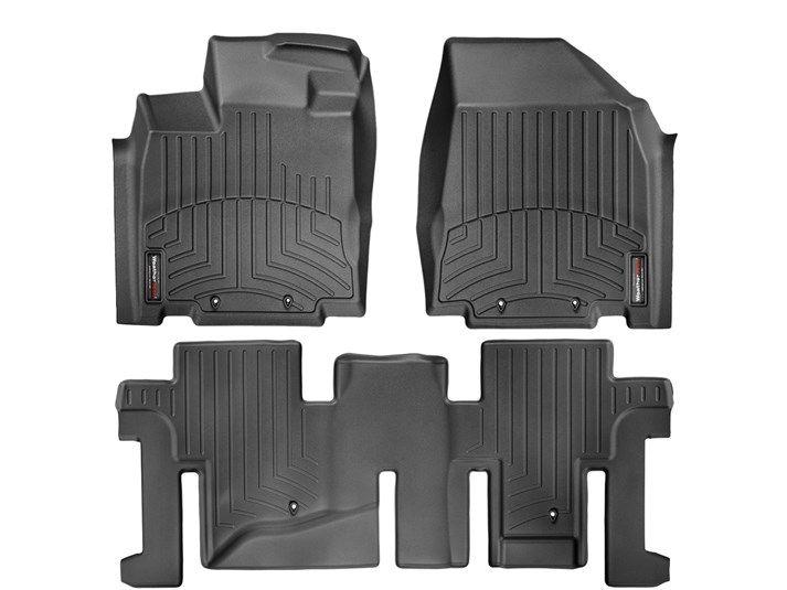 2013 Nissan Pathfinder | WeatherTech FloorLiner custom fit car floor protection from mud, water, sand and salt. | WeatherTech.com