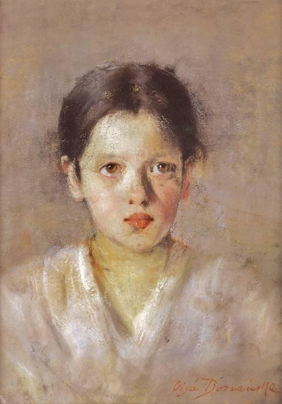 1898 - Olga Boznanska (Polish impressionist, 1865-1945)
