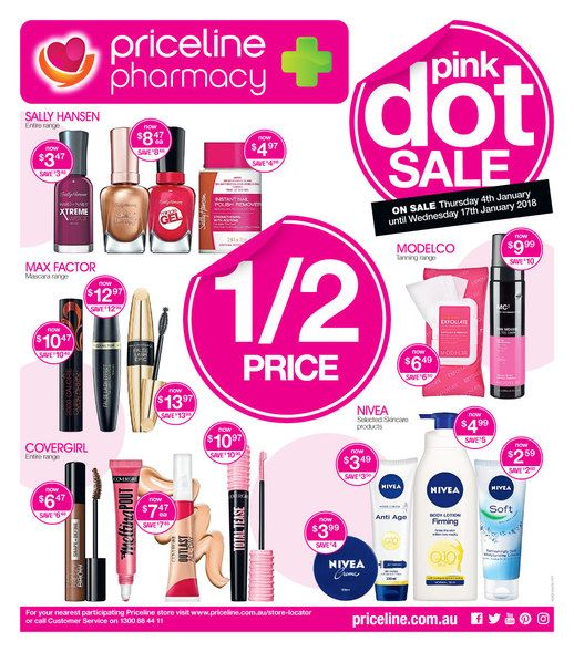 Priceline Catalogue 4 - 17 January 2018 - http://olcatalogue.com/priceline/priceline-shopping-catalogue.html