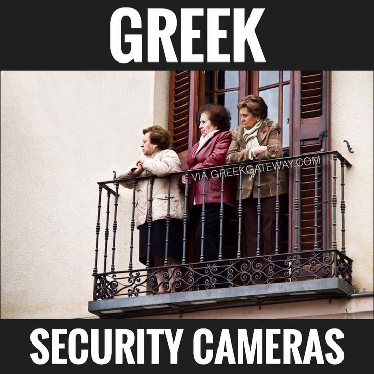 Greek security cameras