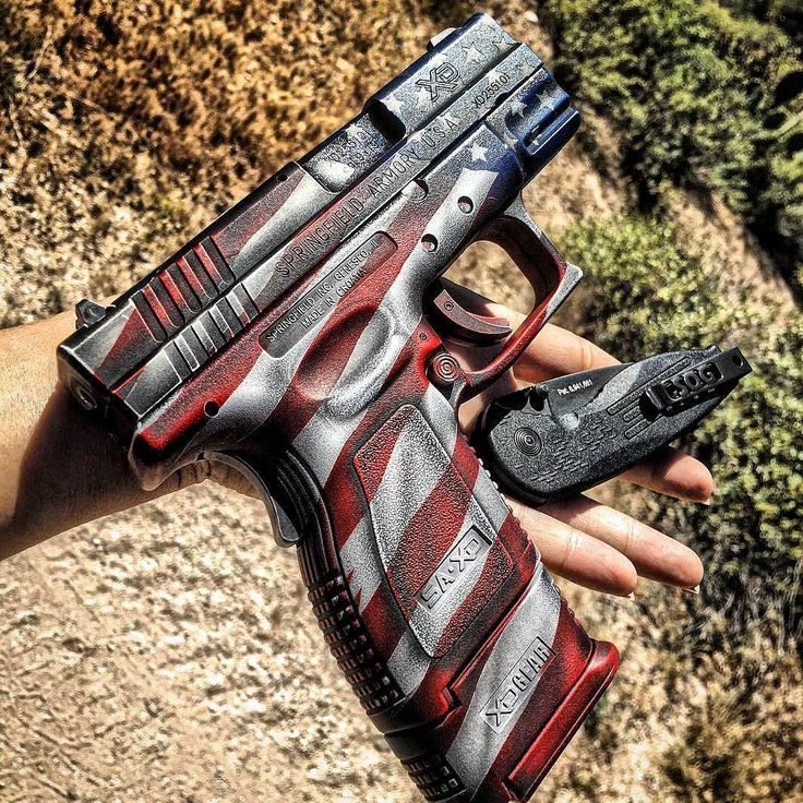 "Manufacturer: Springfield Armory Mod. XD9 ""Custom Cerakote"" Type - Tipo: Pistol…"