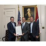 Gov. Bill Haslam and Clint Bowyer Celebrate August Race Week at Bristol Motor Speedway
