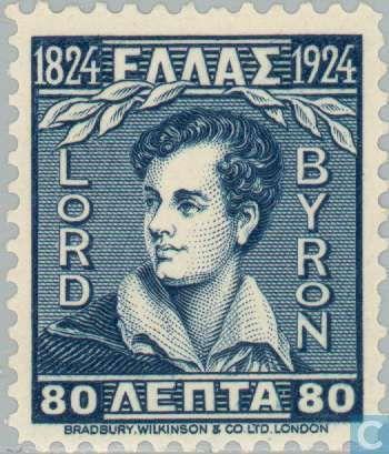 Greece - Lord George Gordon Byron 1924