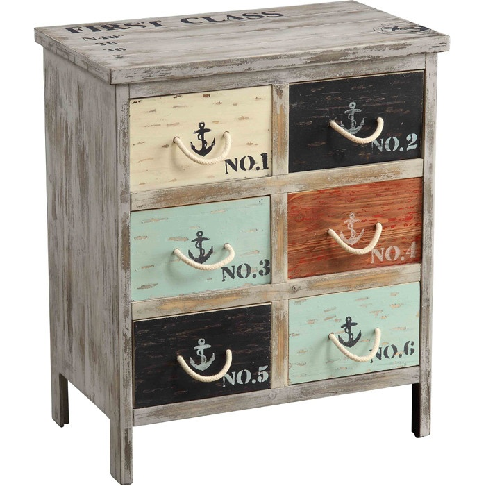 Nautical chest for the lake! Cute