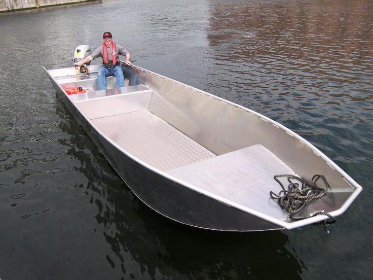 aluminium push boat - Google zoeken | aluminium boten ...