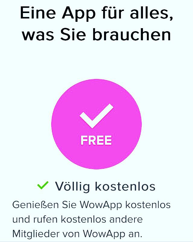 One App for everything | Eine App für alles!  Join today for free:  https://wowapp.com/w/j.schreiter --- #wowapp #app #new #newapp #smartphone #iphone #samsung #community #communication #free #kostenlos #BrandAmbassador #visionary #influence #influencer #skype #whatsapp #bembeltown #anmelden #neu #neueApp #kostenlos #telefonieren #socialmedia #socialnetwork