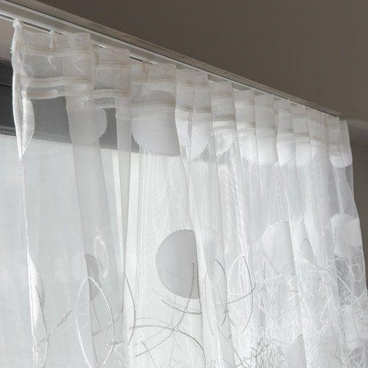best 25 voilage grande largeur ideas on pinterest. Black Bedroom Furniture Sets. Home Design Ideas
