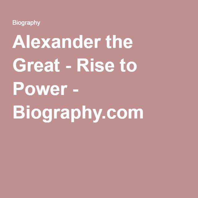 a review of the life and accomplishments of alexander the great Alexander's paternal grandfather, his namesake alexander hamilton, was the scion of this wealthy, land owning family with aristocratic roots and titles of nobility that can be traced back several centuries.
