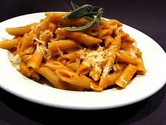Baked Pumpkin Pasta - Bethenny Frankel's Recipes