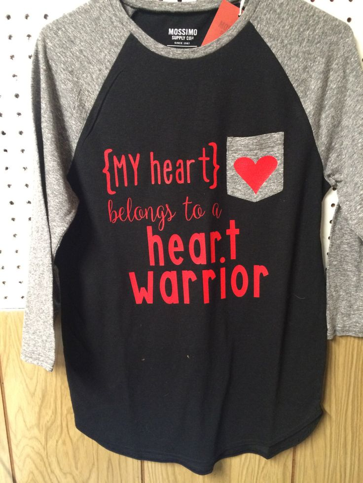 CHD Heart Warrior Shirt by AudreKateCoture on Etsy https://www.etsy.com/listing/268009218/chd-heart-warrior-shirt
