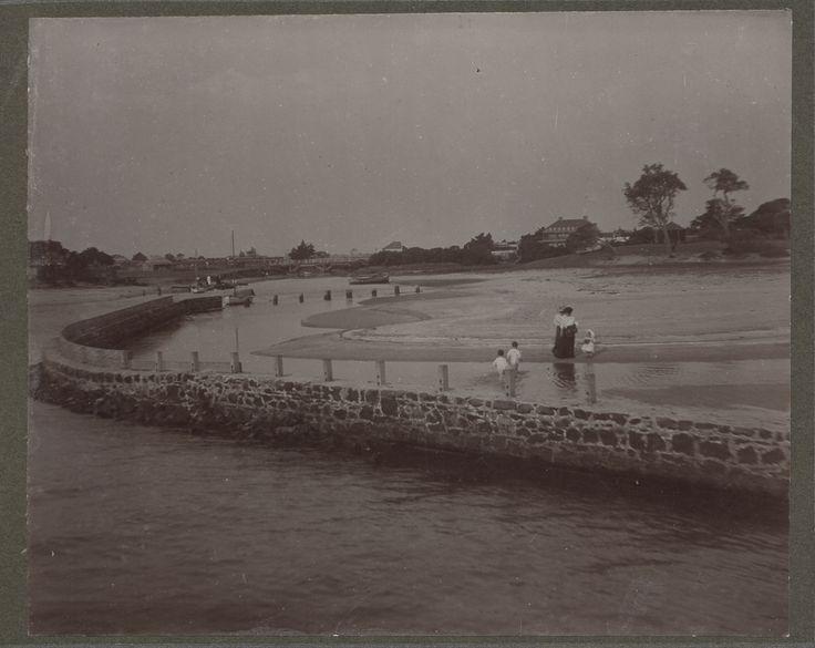 On Mordialloc Creek - 1900