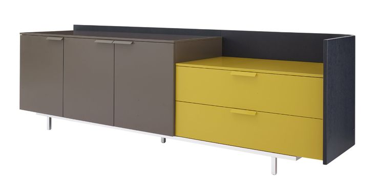 New finishes for Dino. Black stained shell with the new mustard. We now have the TV unit in the City store.