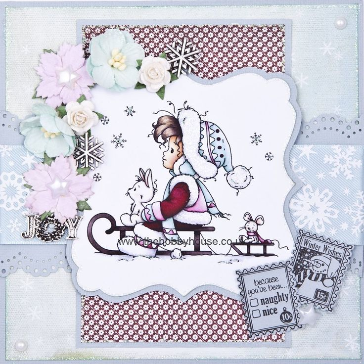 The Hobby House Wee Stamps - Let it Snow