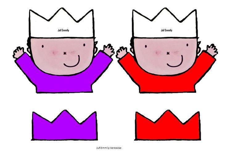 Geef Karel het juiste kroontje (Juf Emmily)