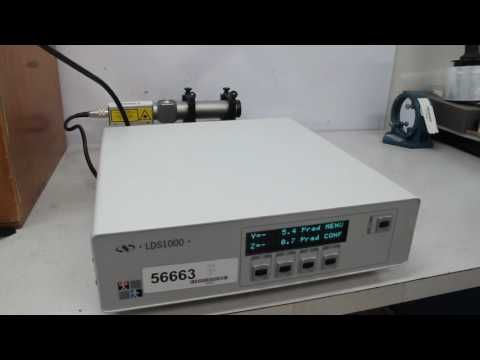 LDS-Vector Electronic Autocollimator LDS 1000 Newport for sale at  BMI Surplus.