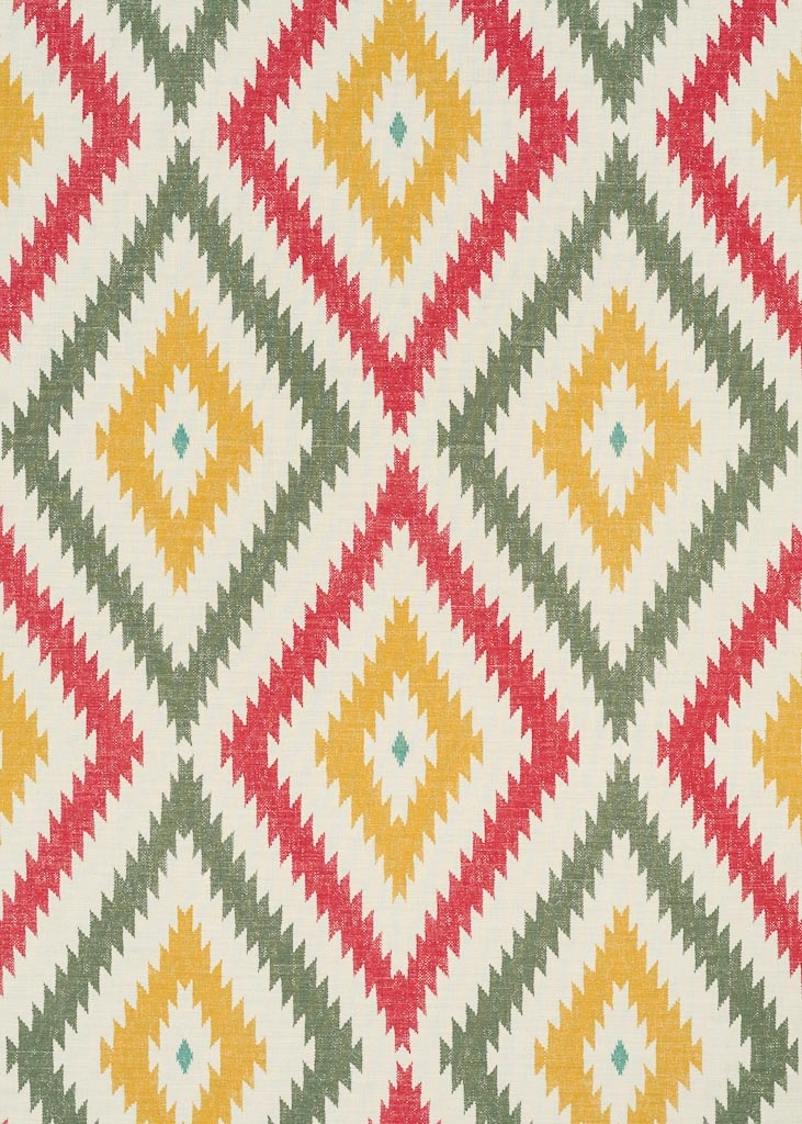 Yellow Diamonds Background Red Yellow, Aztec Aven...