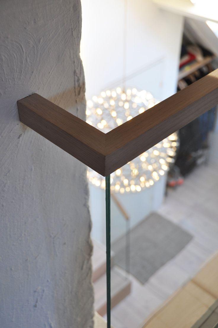 Studio Vabø  - Staircase - Møllegata  Detail handrail