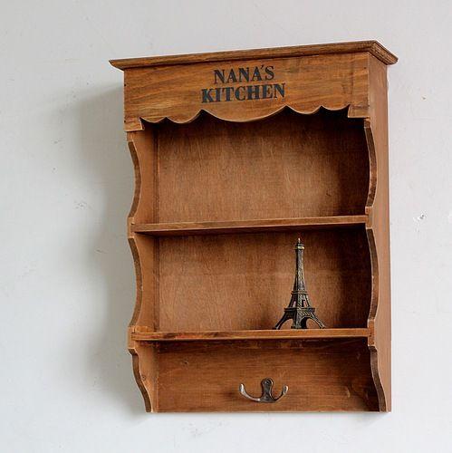Las 25 mejores ideas sobre almacenamiento colgante en for Gabinete de almacenamiento de bano de madera
