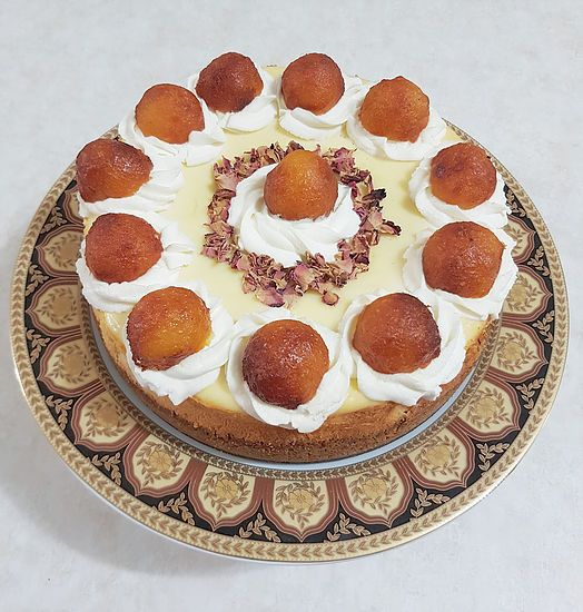 Almost a month ago, we celebrated Eid with a delicious Gulab Jamun Cheesecake. Every Eid, I am in charge of dessert after brunch and it is always an over-the-t