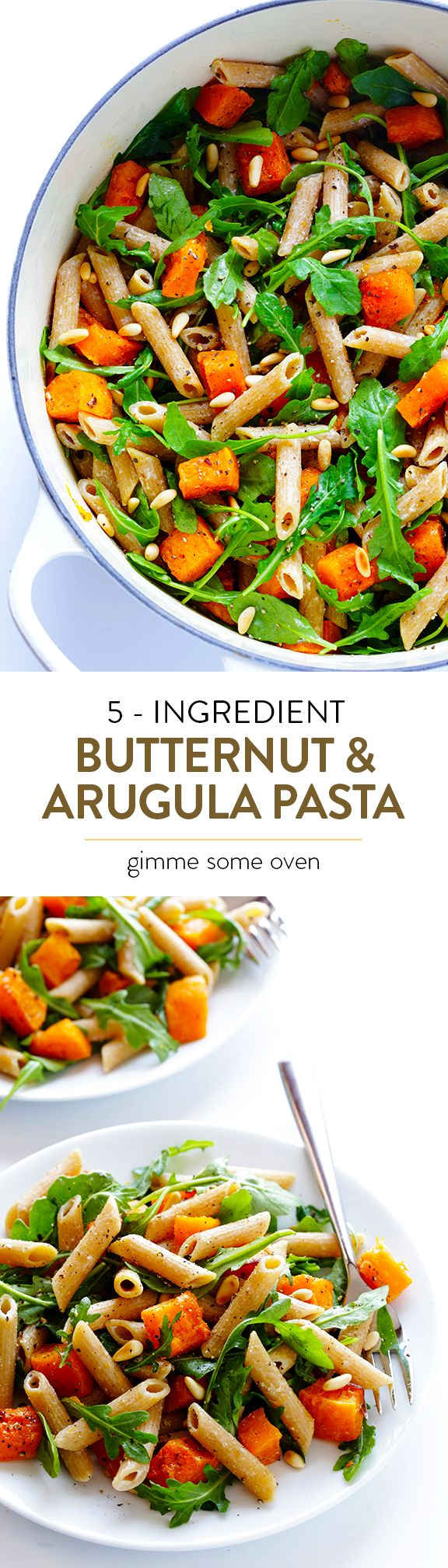One of my new favorite meals!!  It's perfect for autumn, easy to make, and ridiculously good! | gimmesomeoven.com