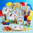 Little Golden Books Party Supplies - unusual birthday theme - possible for Joshy's second?