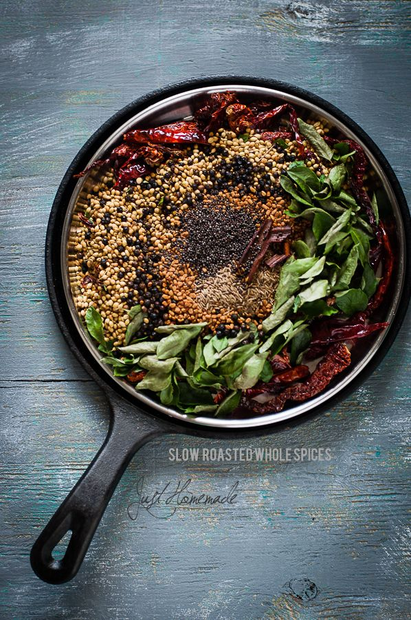 54 best kannada cuisine images on pinterest karnataka indian food slow roasted spices for making puliyogare mix forumfinder Choice Image